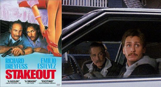 stakeout, film, richard dreyfuss