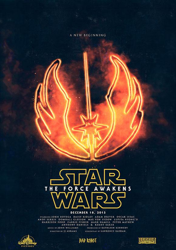 Star Wars: The Force Awakens, Film Poster