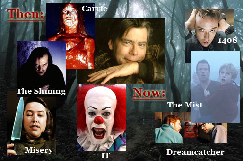 Stephen King film adaptations past and present
