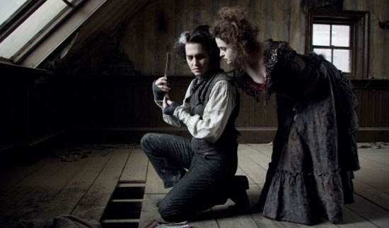 Sweeney Todd, Film, Tim Burton