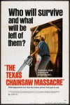 Texas Chainsaw Massacre, Top 10 Films, Horror, Tobe Hooper, Leatherface, Poster