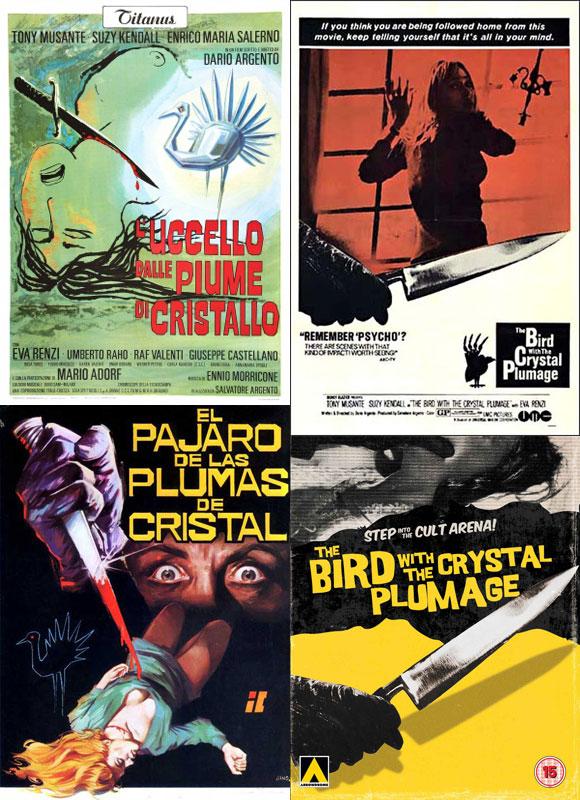 Dario Argento's The Bird with the Crystal Plumage, 1970, Giallo
