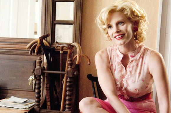 The Help, Top 10 Films, Jessica Chastain,