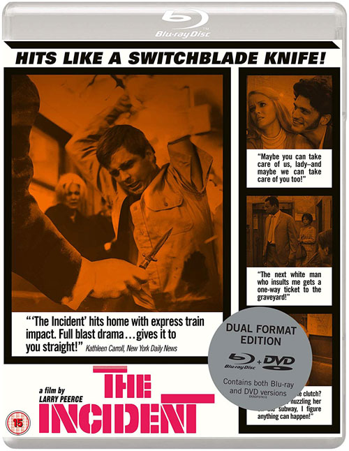 The Incident - UK Blu-ray