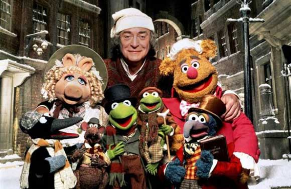 michael caine, muppet christmas carol,