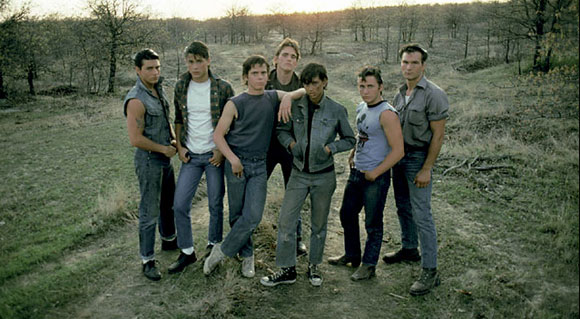 top teenage rebellion films top films 7 the outsiders francis ford coppola 1983