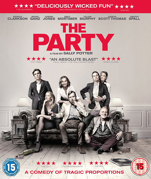 The Party UK DVD