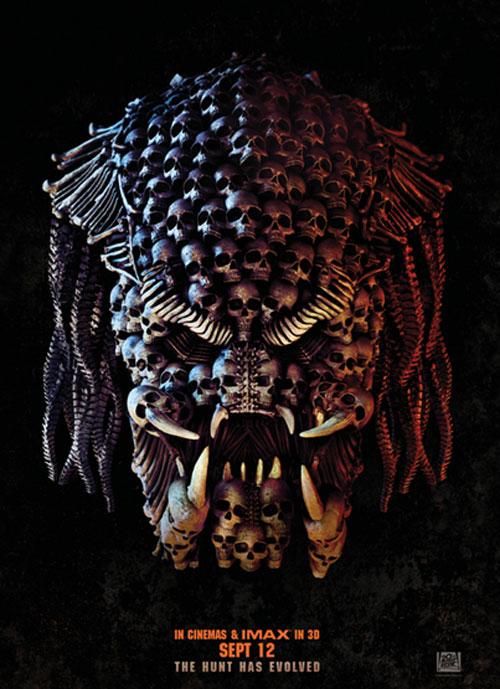 The Predator - 2018 poster