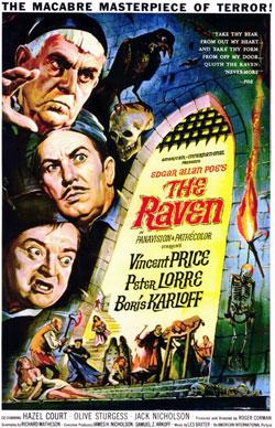 The Raven, Roger Corman, Edgar Allan Poe, Horror,