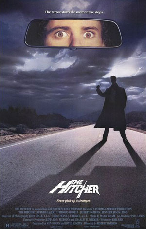 the hitcher, horror, film,