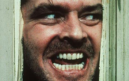 shining, kubrick, stephen king greatest film, jack nicholson,