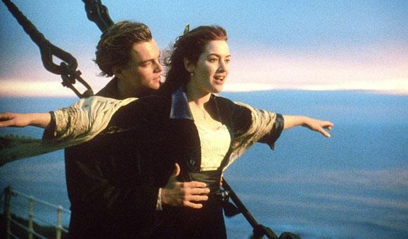 Titanic, James Cameron, Kate Winslet, Leonardo DiCaprio