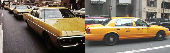 Yellow Cabs, Taxi Driver, New York,