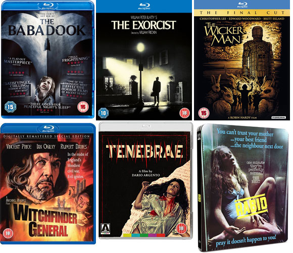 Top 10 Films, Horror Film World Tour,