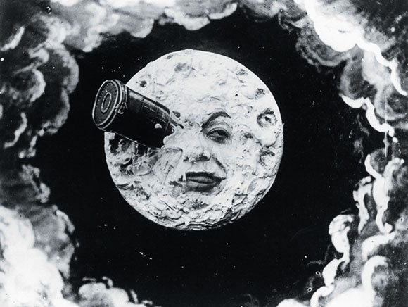 trip to the moon, milies,