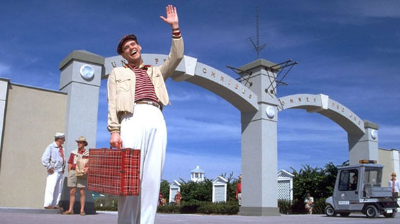 The Truman Show, Suburbia In Peril, Jim Carrey,