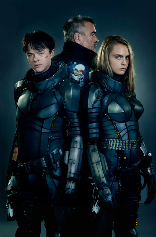 "Images & Trailer Released Of Luc Besson's New Film ""Valerian and the City of a Thousand Planets"""