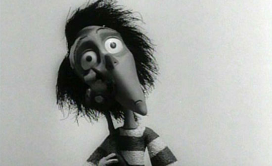 vincent, tim burton, film,