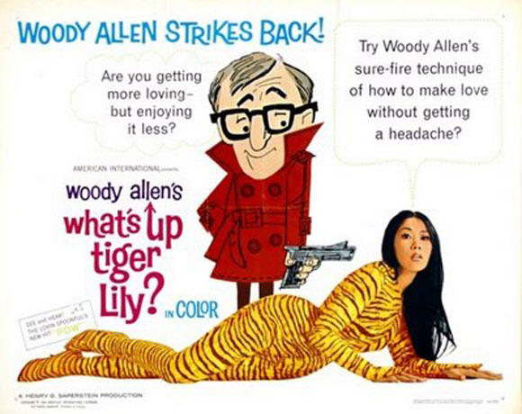 what's up tiger lily, woody allen, performance,