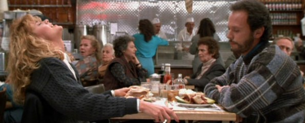 When Harry Met Sally, Orgasm Scene, Meg Ryan, Billy Crystal,
