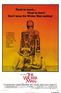 The Wicker Man, 1973, Poster, Top 10 Films,