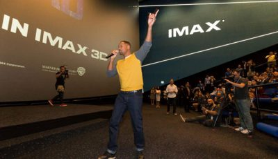 Will Smith Gatecrashes IMAX 3D Screening Of