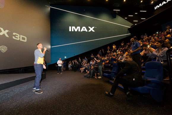 """Will Smith Gatecrashes IMAX 3D Screening Of """"Suicide Squad"""" In Dubai"""
