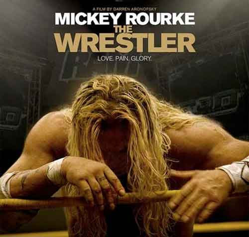 the wrestler mickey rourke best film 2009