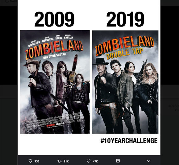 "Zombieland: Double Tap"" Poster..."