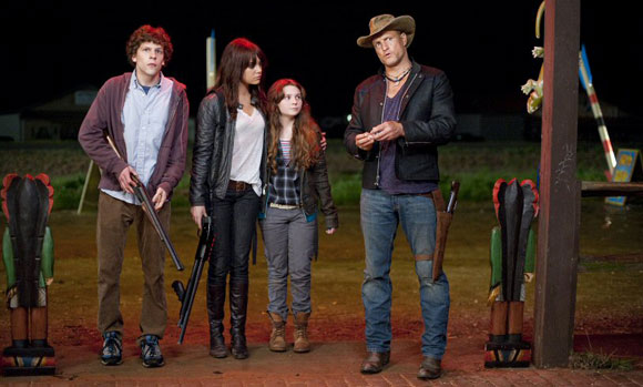 zombieland, top 10 films, 31 days of horror,